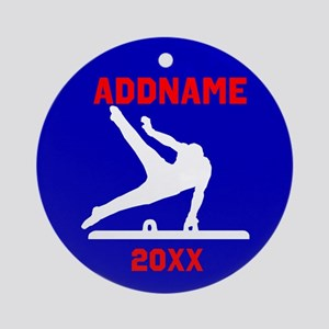 AWESOME GYMNAST Ornament (Round)