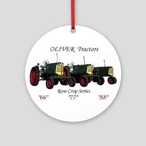 Oliver Trio 66,77,88 Ornament (Round)