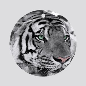 Lazy Tiger Ornament (Round)