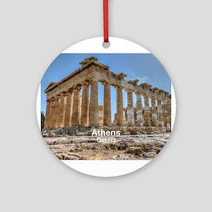 Athens Ornament (Round)