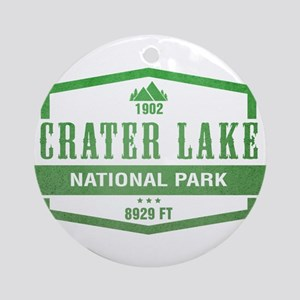 Crater Lake National Park, Oregon Ornament (Round)