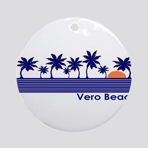 Vero Beach, Florida Ornament (Round)