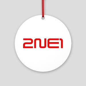 2ne1 Ornament (Round)