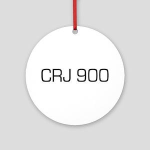 CRJ 900 Ornament (Round)