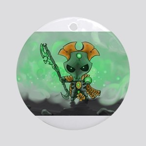 Robot Overlord Ornament (Round)