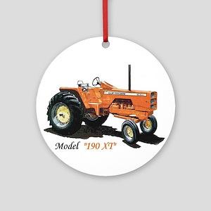 Antique Tractors Ornament (Round)