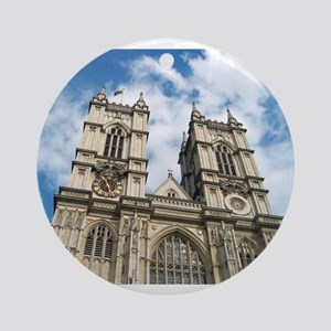 Westminster Abbey Ornament (Round)