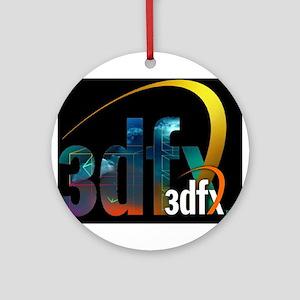 3Dfx resurrected Ornament (Round)