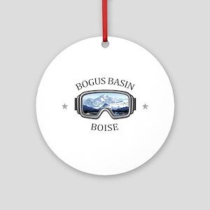 Bogus Basin - Boise - Idaho Round Ornament