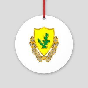 12th Cavalry Ornament (Round)