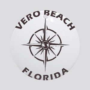 Florida - Vero Beach Round Ornament