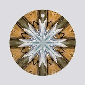 12 Apostles Mandala Ornament (Round)
