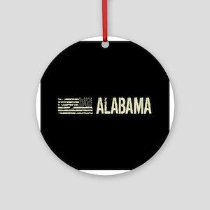 Black Flag: Alabama Round Ornament
