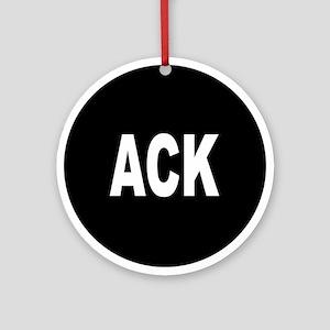 ACK Ornament (Round)