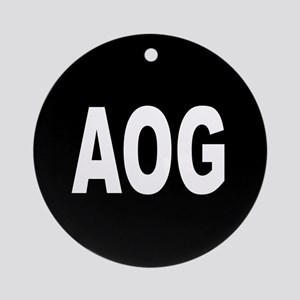 AOG Ornament (Round)