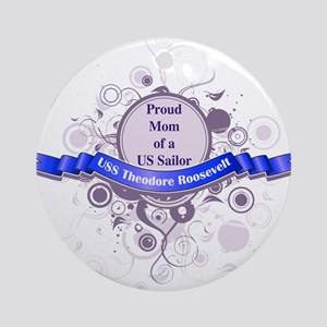 Proud Roosevelt Mom Ornament (Round)