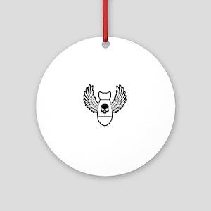 Winged bomb Ornament (Round)