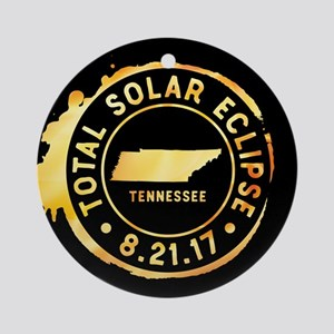 Eclipse Tennessee Round Ornament