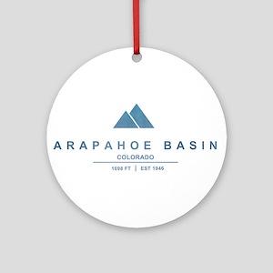 Arapahoe Basin Ski Resort Colorado Ornament (Round