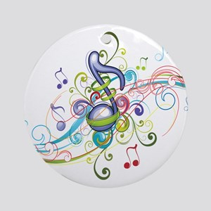 Music in the air Ornament (Round)