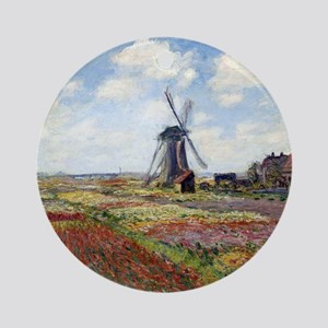 Monet Round Ornament