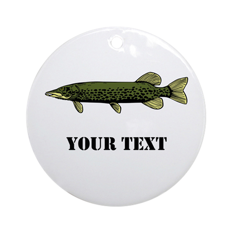 CUSTOMIZABLE MUSKIE Ornament (Round)