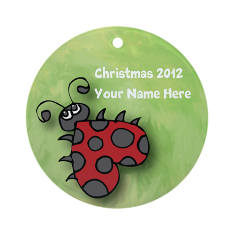 Personalize It Yourself Ladybug Ornament