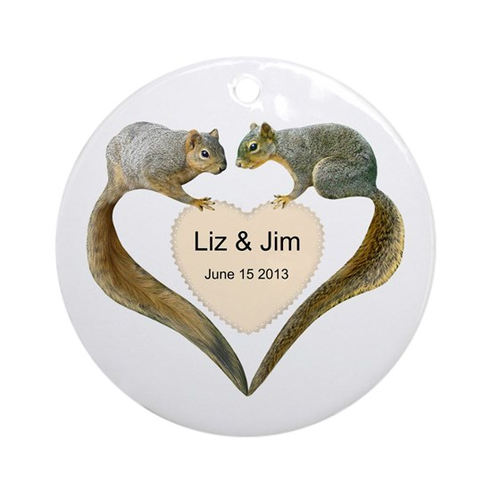 Love Squirrels Doily