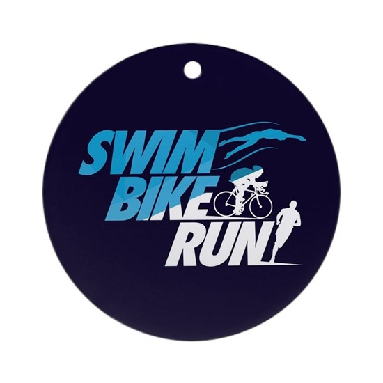 Swim Bike Run Split Blue Dark FB