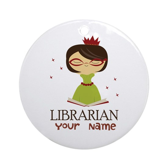 Personalized Librarian Lady