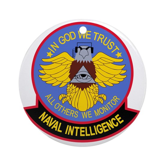 US NAVAL INTELLIGENCE Military Patch IN COD WE TR