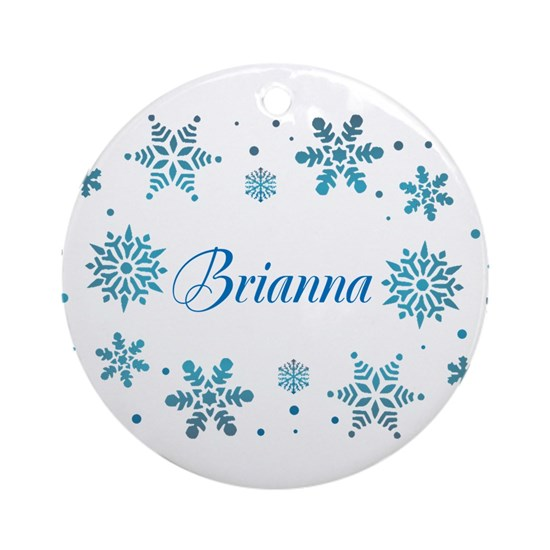 Custom name Snowflakes