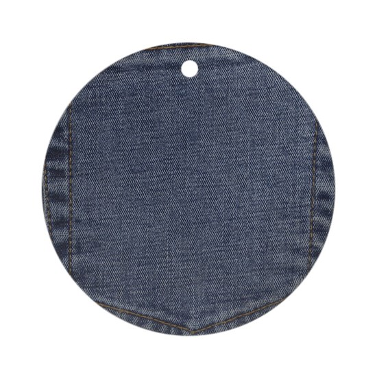 Blue Denim Pocket