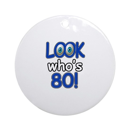 80th birthday designs