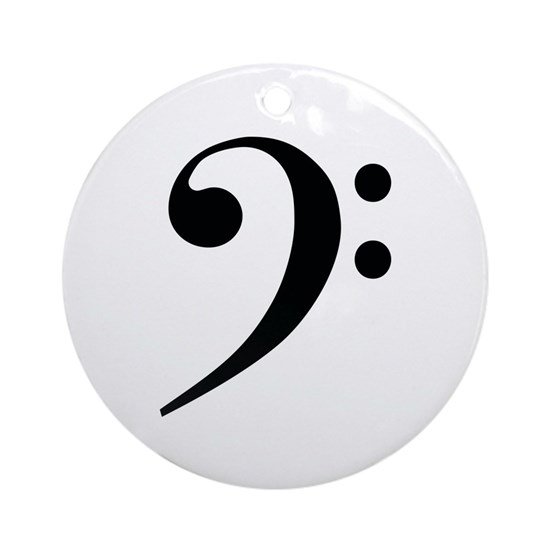 Bass Clef in Classic Black