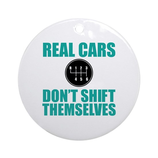 Real Cars Don't Shift Themselves