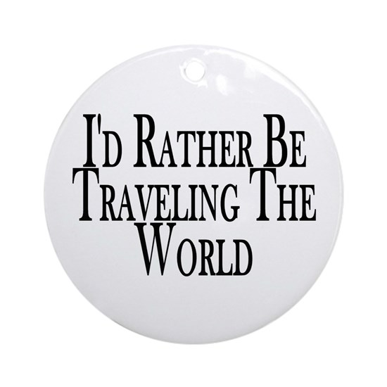 Rather Travel The World