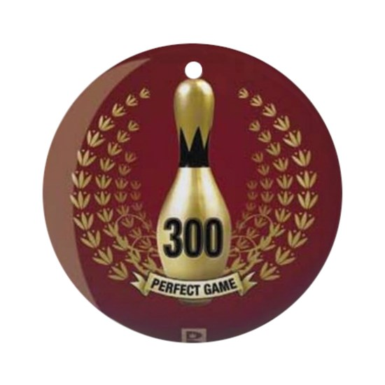 BOWLING  300 GAME  PERFECT GAME Round Ornament