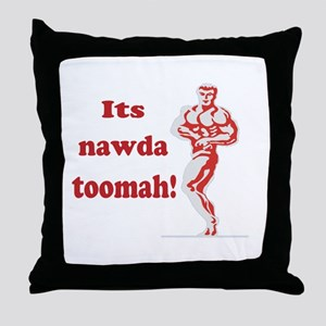 Nawda Toomah Throw Pillow