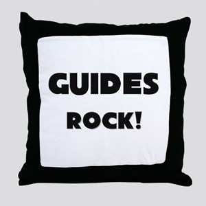 Guides ROCK Throw Pillow