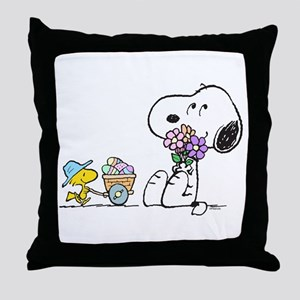 Spring Treats Throw Pillow