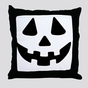 Jack OLantern Throw Pillow