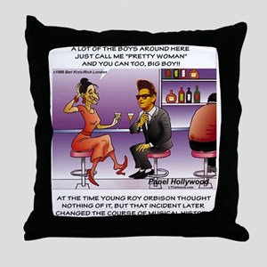 Roy Orbison, The Early Days Throw Pillow