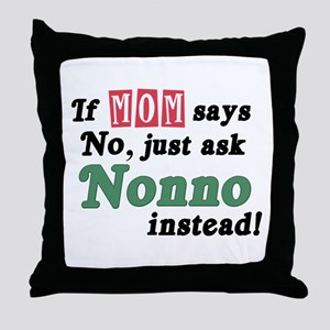 Just Ask Nonno! Throw Pillow
