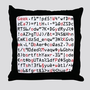 Strong Password Throw Pillow