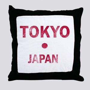 Tokyo Japan Designs Throw Pillow