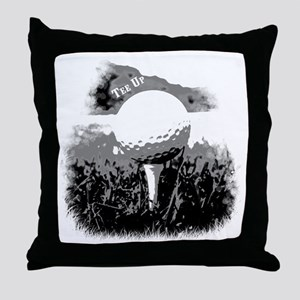 Tee Up Throw Pillow