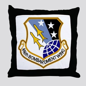 416th Bomb Wing Throw Pillow