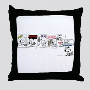 Tennis Pro Throw Pillow