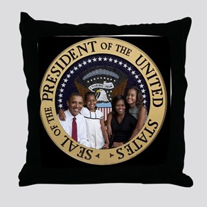 First Family Throw Pillow